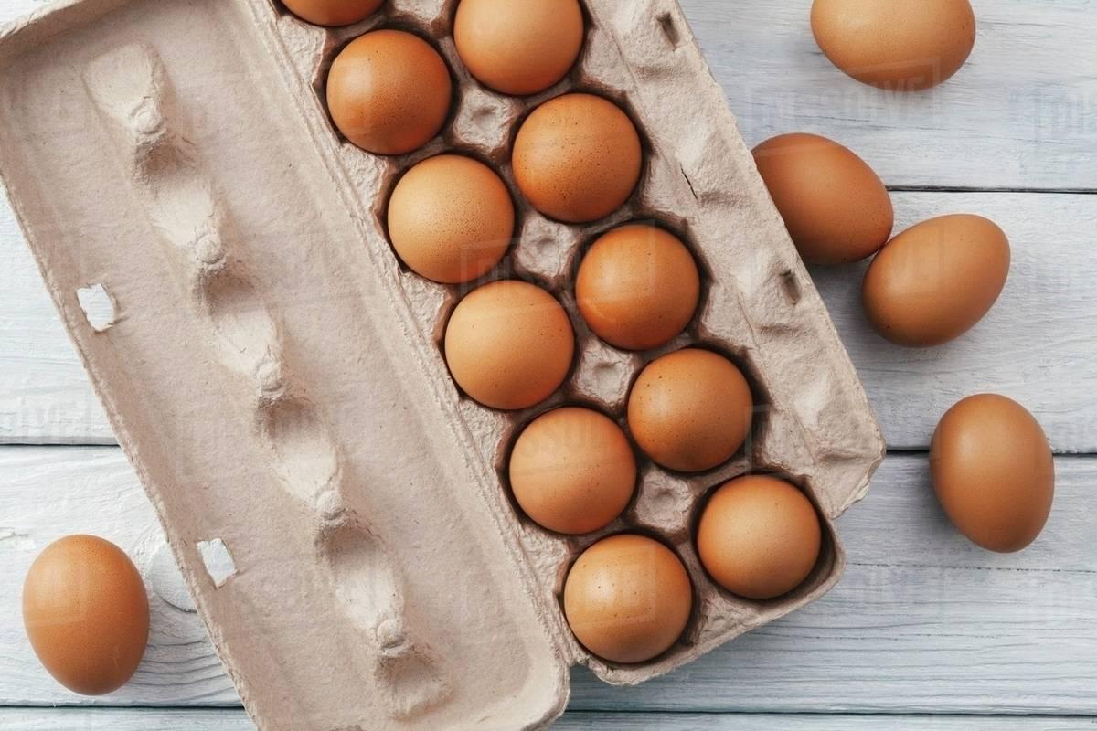بيض مغلف