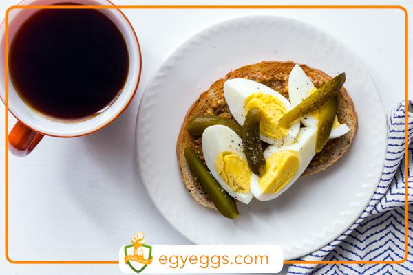 فوائد تناول البيض المسلوق يوميا وبطريقة معتدله